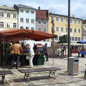Wochenmarkt Traunstein